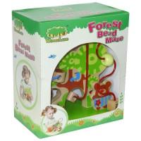 Деревянная игрушка-лабиринт