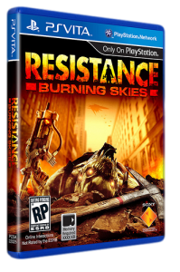 игра Resistance: Burning Skies PS Vita