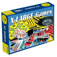 Набор настольных игр XL + шахматы + рулетка