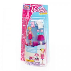Набор конструктора с фигуркой Барби