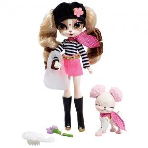 Кукла с домашним любимцем 'Париж'