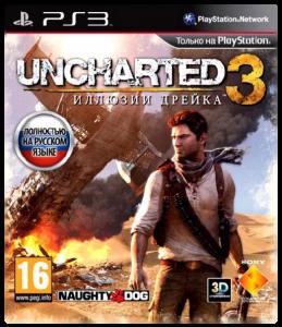 игра Uncharted 3: Иллюзии Дрейка PS3