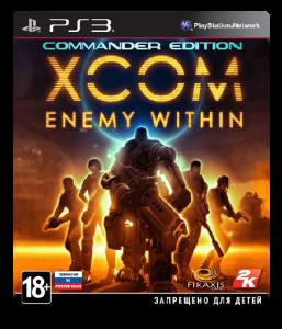 игра XCOM: Enemy Within Commander Edition PS3