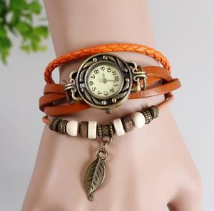 Подарок Часы - браслет Огненный Этюд