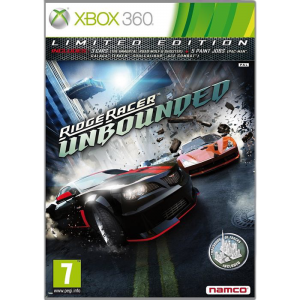 игра Ridge Racer Unbounded. Ограниченное издание XBOX 360