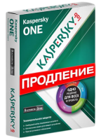Программа Kaspersky ONE CIS and Baltic Edition 5 Device Renewal Retail Pack
