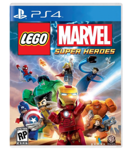 игра LEGO Marvel Super Heroes PS4