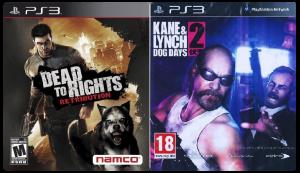 игра Сборник 2в1: Dead to Right Retribution + Kane & Lynch 2: Dog Days PS3