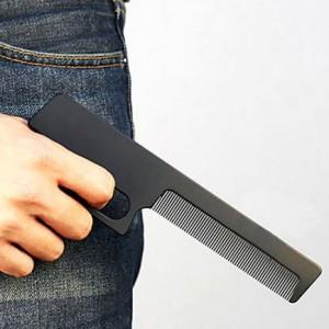 Подарок Расческа - пистолет