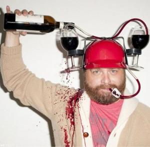 Подарок Шлем для напитков Не дай себе засохнуть!