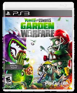 игра Plants vs Zombies Garden Warfare PS3