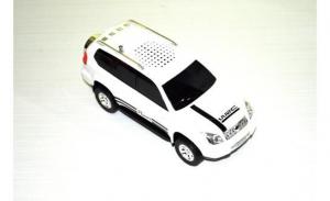 Подарок Машинка Toyota Land Cruiser Prado (колонка, плеер mp3, радио)