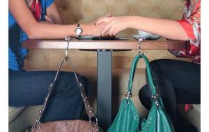 a0424ccd Держатель для сумки Бриллиант с зеркалом купить в Киеве и Украине
