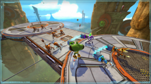 скриншот Ratchet and Clank: All 4 One PS3 #4