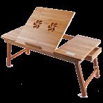 Подарок Бамбуковый столик для ноутбука UFT T13