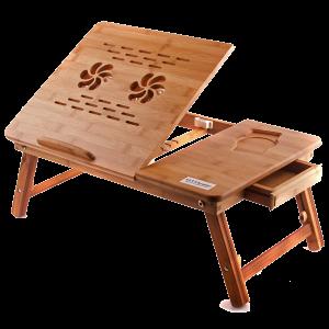 Подарок Бамбуковый столик для ноутбука UFT T26