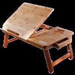 Подарок Бамбуковый столик для ноутбука UFT T27