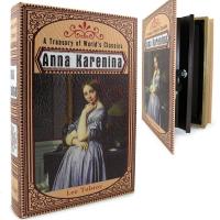 Подарок Кожаная книга-сейф 'Анна Каренина'