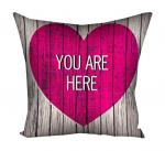 Подарок Подушка Ты в моем сердце Мини