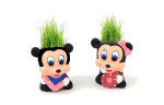 Подарок Керамический травянчик с семенами Мики Маус