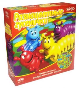 Настольная игра 'Разноцветные гусенички'