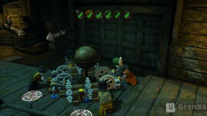 скриншот LEGO Pirates of the Caribbean PS3 #2