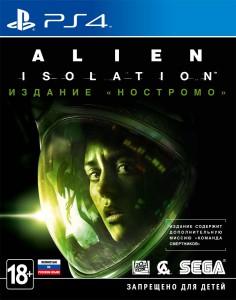 игра Alien: Isolation. Nostromo Edition PS4 - Издание 'Ностромо' - Русская версия