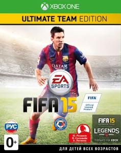 игра FIFA 15 Ultimate Team Edition XBOX ONE - русская версия