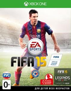 игра FIFA 15 Xbox One