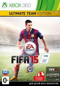 игра FIFA 15 Ultimate Team Edition XBOX 360