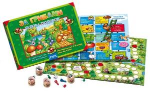 Настольная игра За грибами