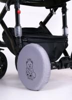 Чехлы на колеса Baby Breeze 0341 (закрыт.) диаметр 25-31 см (в комплекте 2 шт)