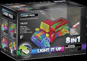 Конструктор Laser Pegs 'Вантажівки 8 в 1'