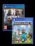 игра Metro Redux PS4 + Minecraft PS4