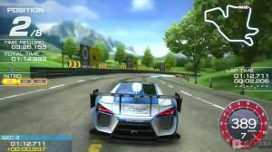 скриншот Ridge Racer PS Vita #2