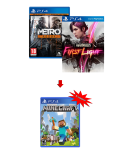 игра Metro Redux PS4 + Infamous: First Light PS4 + Minecraft PS4