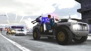 скриншот Pursuit Force Extreme Justice PSP #2