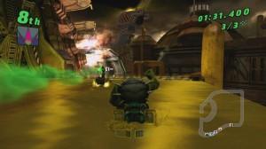 скриншот Ben 10: Galactic Racing PS Vita #2