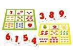 Настольная игра Лото цифры и фрукты
