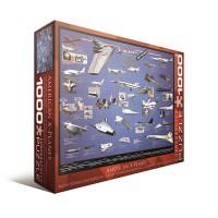 Пазл EuroGraphics 'Америанские самолеты-разведчики' (6000-0248)