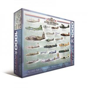 Пазл 'Современные военные самолеты'