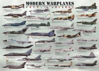 Пазл EuroGraphics 'Современные военные самолеты' (6000-0076)