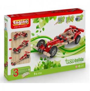 Конструктор Машины, 3 модели с электродвигателем