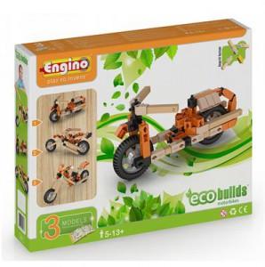 Конструктор Engino 'Мотоциклы', 3 модели