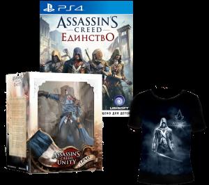 игра Assassin's creed: Unity Специальное издание PS4 + ФИГУРКА ASSASSIN'S CREED UNITY. ARNO BUNDLE