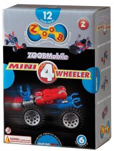 Конструктор ZOOB Mini 4 Wheeler (Набор с колесами)