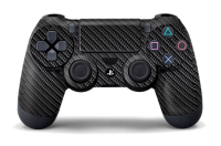 Наклейка для Sony PlayStation 4 Dualshock Carbon