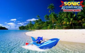 скриншот Sonic & All-Star Racing Transformed #4