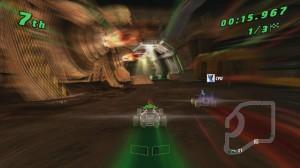 скриншот Ben 10: Galactic Racing PS Vita #3