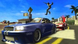 скриншот Pursuit Force Extreme Justice PSP #3